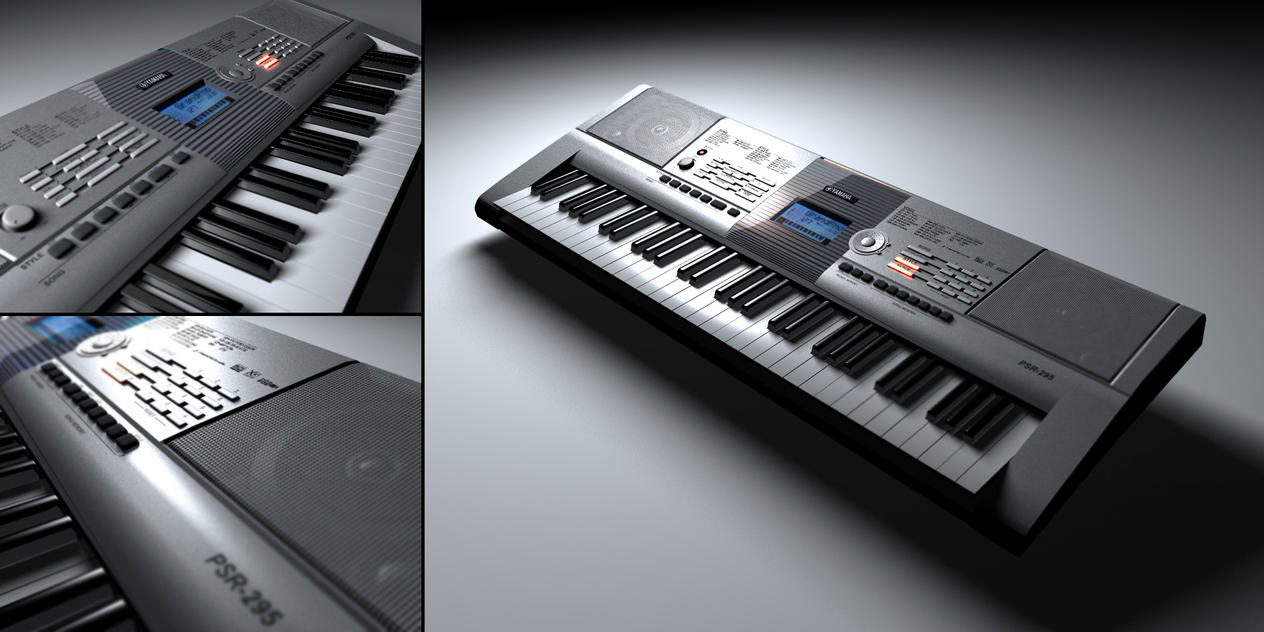 Yamaha psr 295 by kvdo on deviantart for Yamaha clp 295