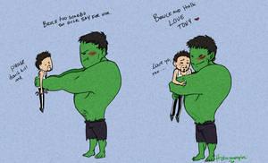 :Hulk Love Tony: by Venhedis-fastavass