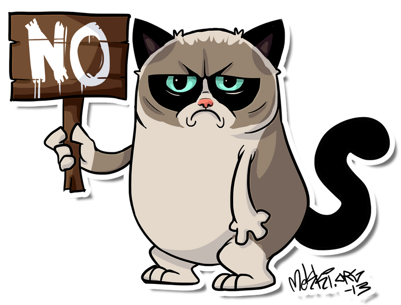 Grumpycat by Mekki