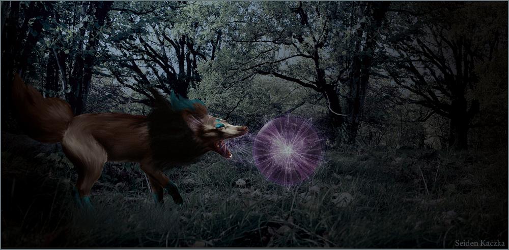 [trade] Zorua used Shadow Ball ! by Seiden-Kaczka