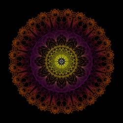 Mandala by Seiden-Kaczka