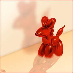 Balloon pony by Seiden-Kaczka