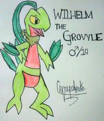 Wilhelm the Grovyle by TheBlueRiolu