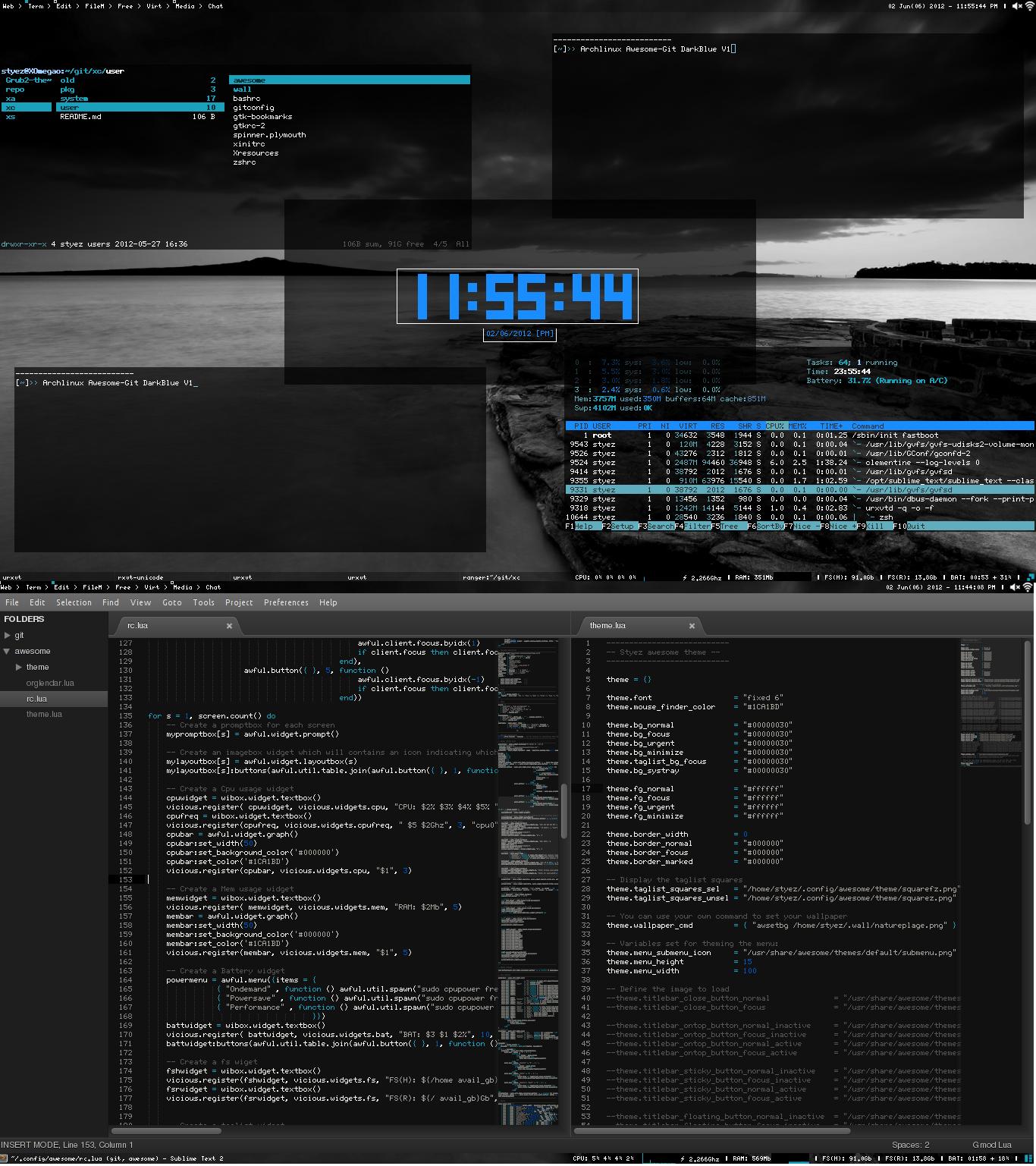 Archlinux - Awesome - V1 by wertyi48