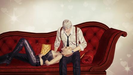 On The Sofa Dante x Trish