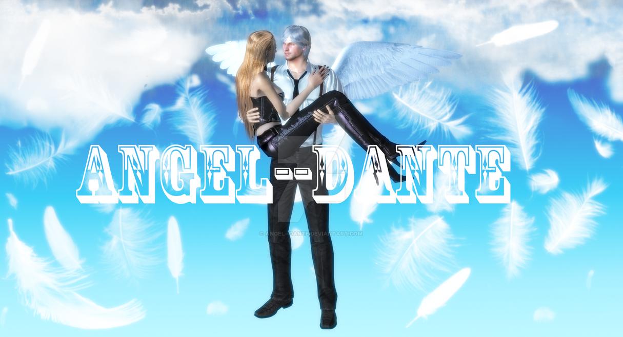 Dante and Trish in Heaven by angel--dante