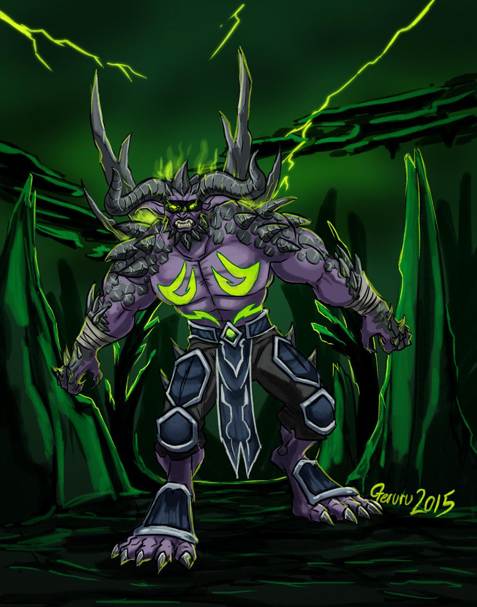 And now a Demon Hunter by geruru on DeviantArt