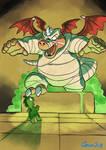 WonderBoy  The Dragon's Trap : The Mummy Awakes by geruru