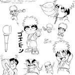 Goe-Goe 1 A page of Goemon