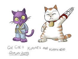 Goe Goe 11 Koban and Kurobei by geruru