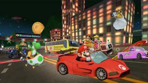 Characters Racing On Moonview Highway