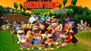 Donkey Kong Country Trilogy Poster (My Version)