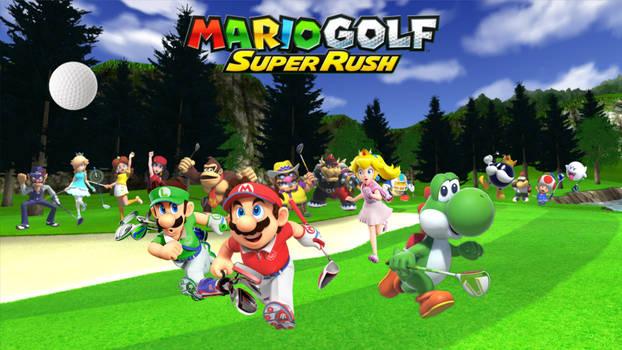 Mario Golf: Super Rush Poster