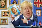 She doesn't belong here. Boris Johnson is furious by Andrew-Zavgo