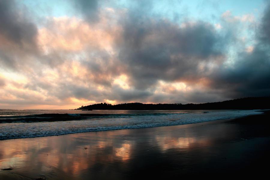 Beach in carmel by fairytale-endings