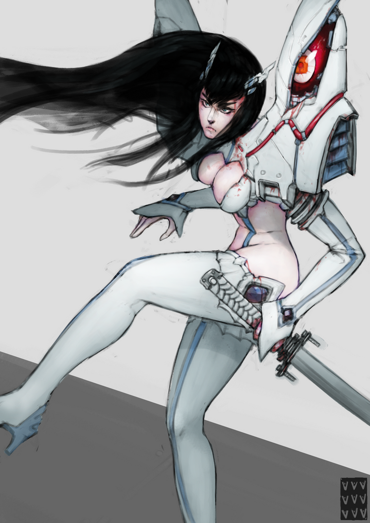 Satsuki Kiryuin (KLK) by PentaTree