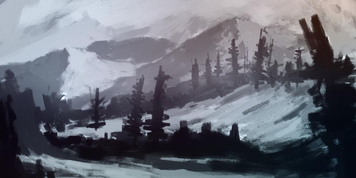 Mountainous Area by MFFchaos
