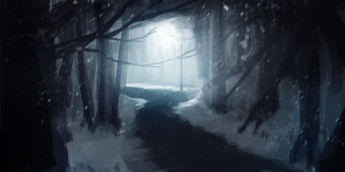 Nightly Snowwalk by MFFchaos