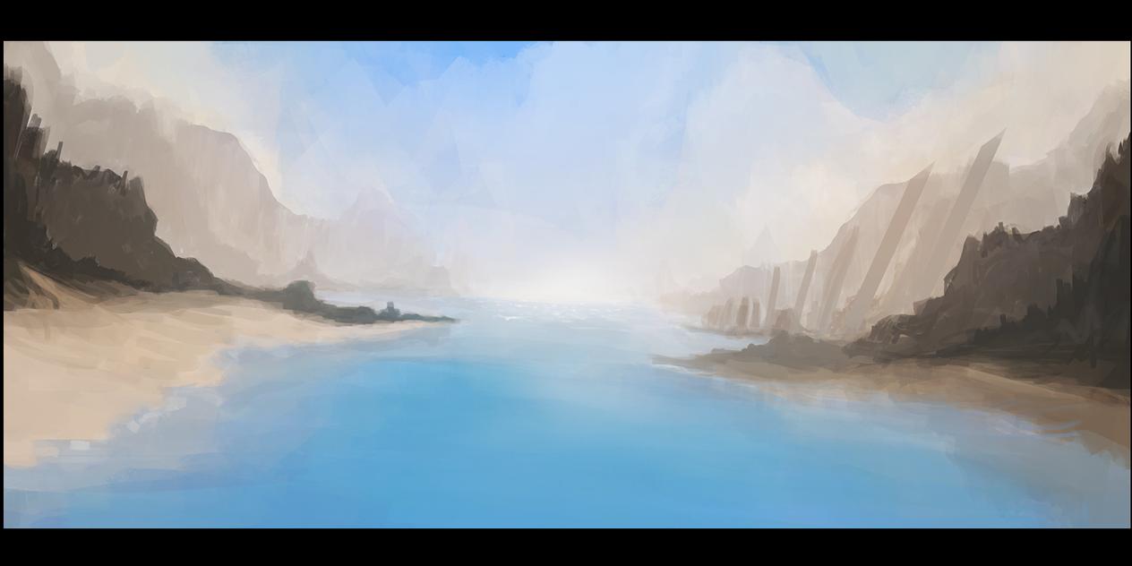 Island Beach by MFFchaos
