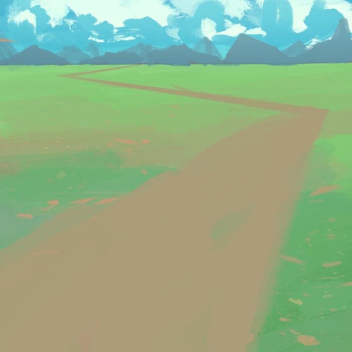 Lushious Green Field by MFFchaos