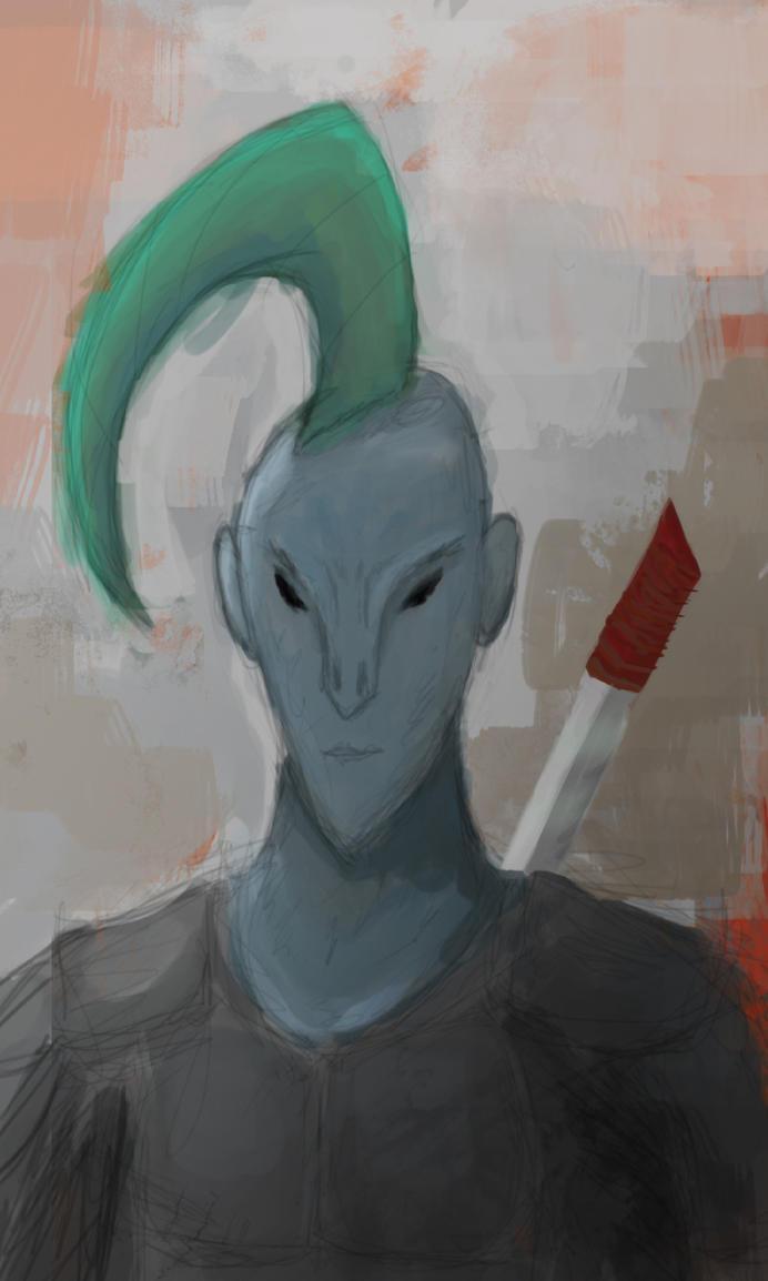 Alien Samurai by MFFchaos
