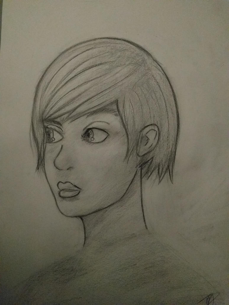 Face Sketch #3 by MFFchaos