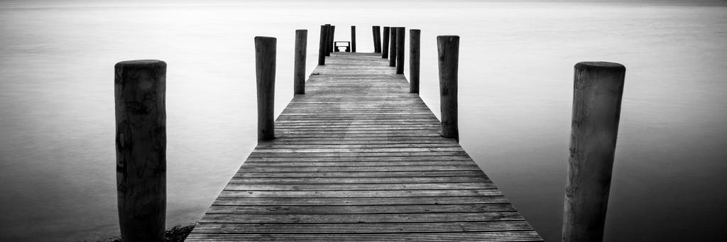 Keswick Wooden Jetty by Colin-Pierce