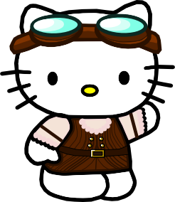 SteamPunk Hello Kitty 2 by CitricLily