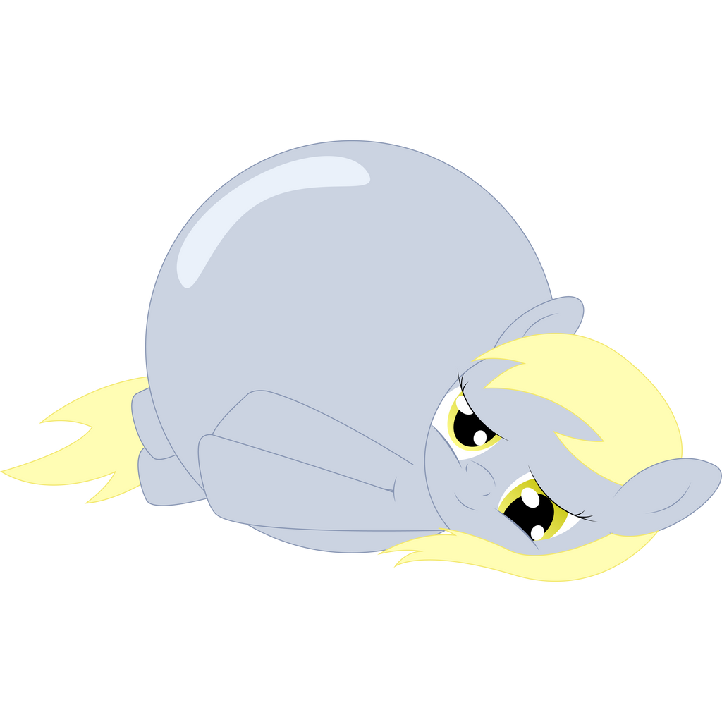 Inflated Derpy By RedshiftTheFox On DeviantArt