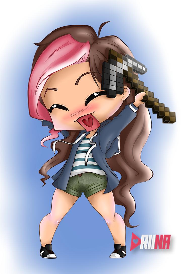 Riina plays Minecraft by RiinaDeynara