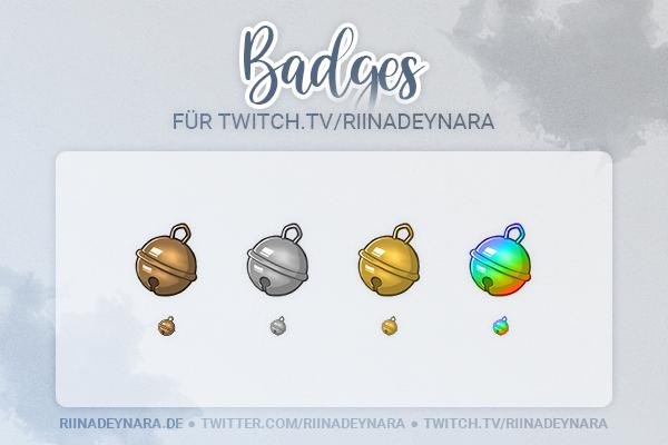 Sub Twitch Badges [RiinaDeynara]