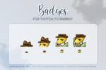 Sub Twitch Badges [Parryy]