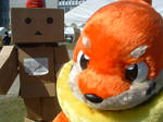 Buizel Fursuit with dambow