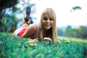 christine and the mushrooms