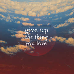 give up by RobbyP