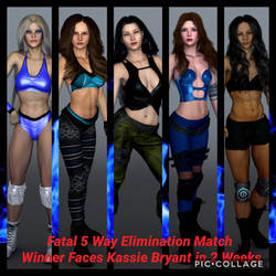 Fatal 5 Way Elimination Match 1 Contender