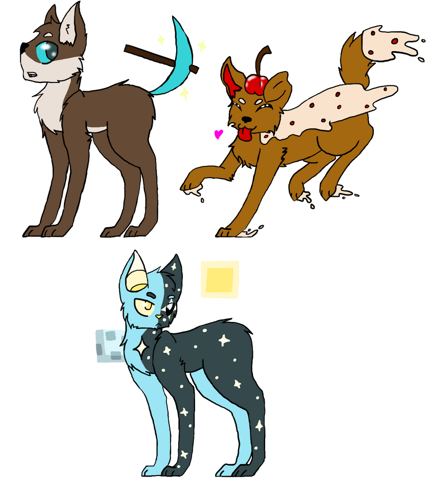 Minecraft-Themed Adopts (CLOSED!) by CandyPinkCat