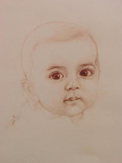 portrait by amirem