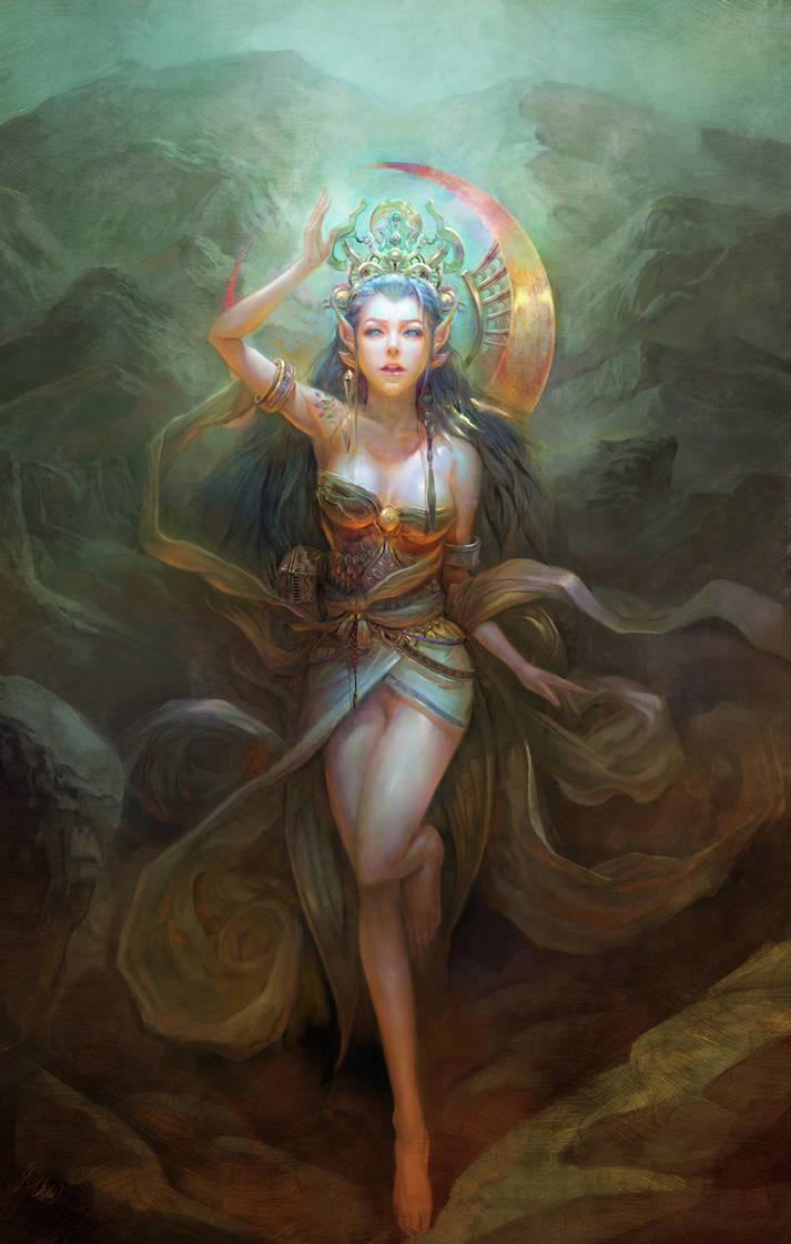 Princess-iiii by MichaelCTY