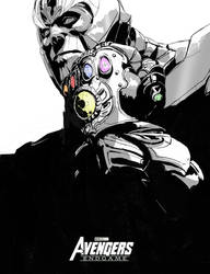 Avenger end-game Thanos