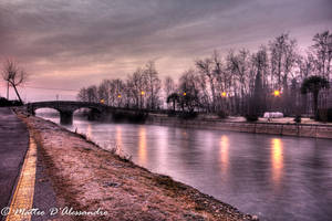 At the beginning of the day, a bridge by babiljunior