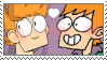 Mattcest stamp (requested) by CamTheWeirdo