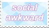 Social awkward stamp by MsHoshi