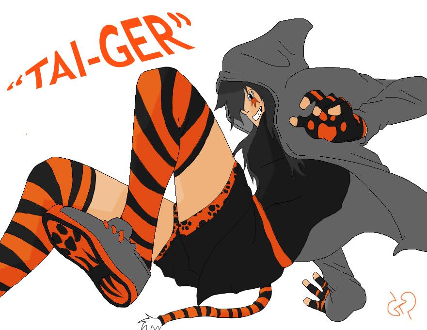 New Tai-Ger OC by TAyukii