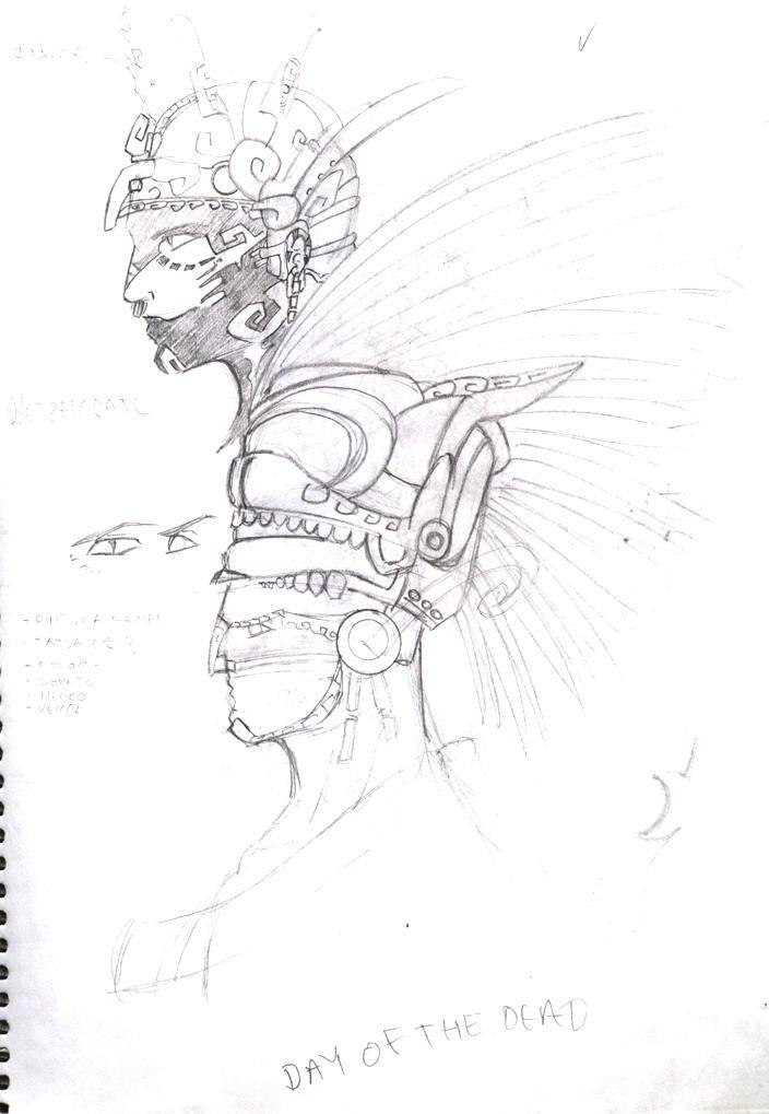 Quetzalcoatl sketch by LordCoatl