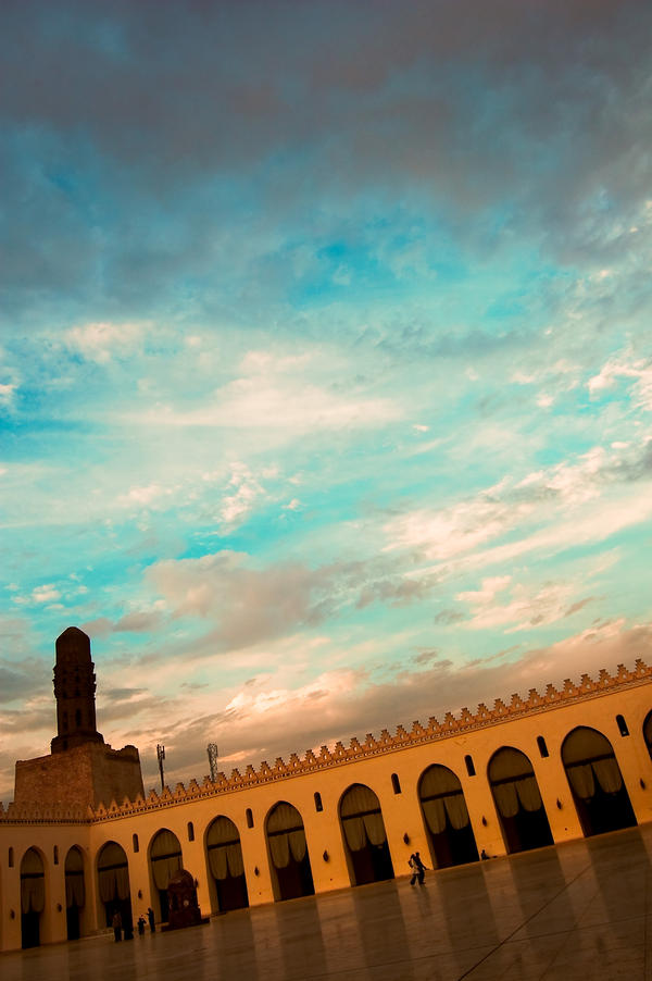 Al Hakim Mosque Courtyard II by mgayar