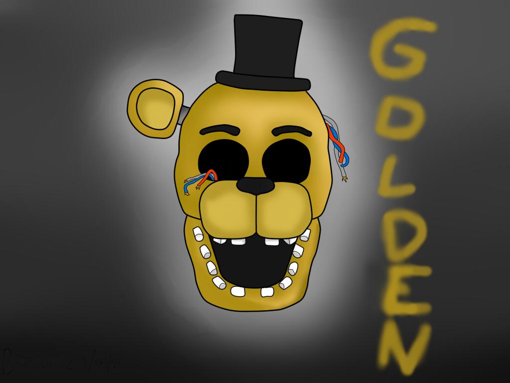 OLD GOLDEN FREDDY fnaf 2 by THEGAMERMIKU on DeviantArt