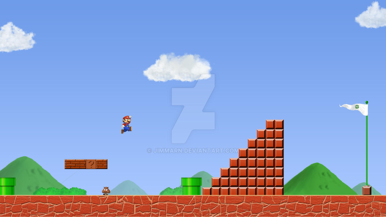 new super mario 3d world wallpaper