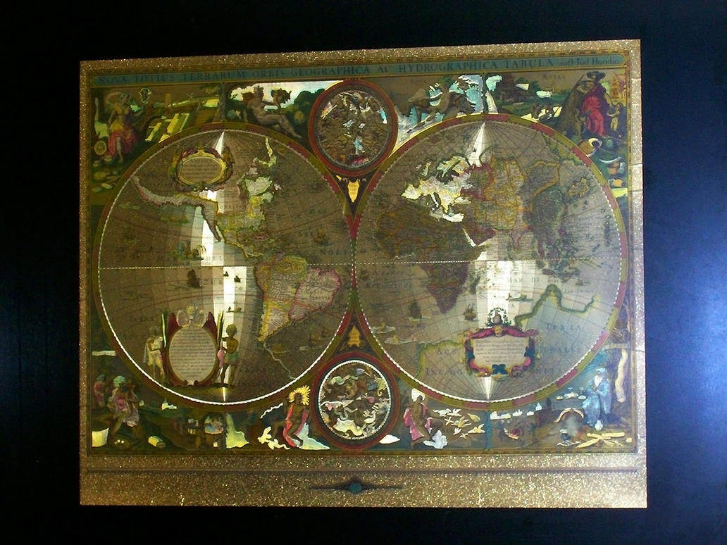 Old world map by blueamnesiac on deviantart old world map by blueamnesiac gumiabroncs Images