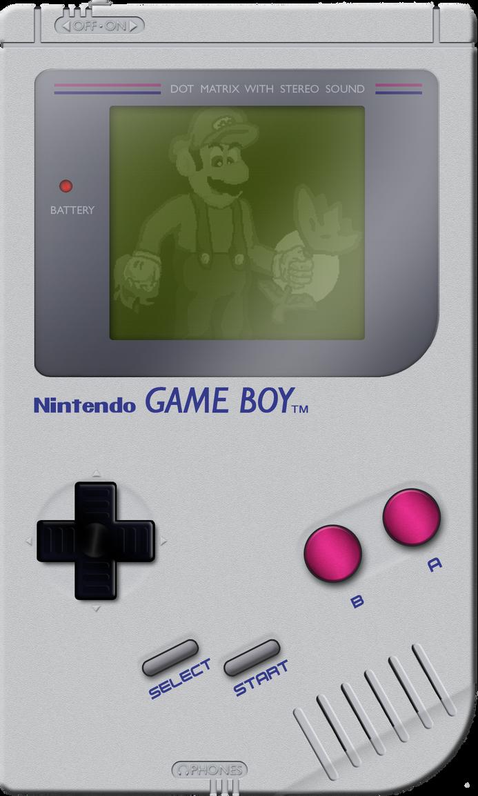 CG Game Boy by BLUEamnesiac